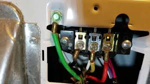 wiring 4 wire cord to 3 prong dryer wiring diagram show