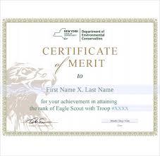 10 Merit Certificate Templates Free Printable Word Pdf