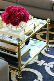 gold glass tables brass coffee tables 2 gold glass coffee tables