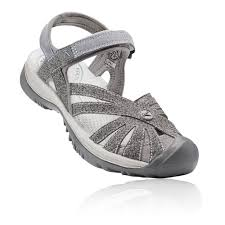 Keen Womens Shoe Size Chart Details About Keen Womens Rose Walking Shoes Sandals Grey Sports Outdoors