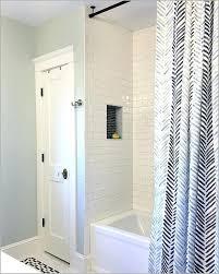 shower curtain rod ideas.  Curtain Ceiling Mount Curtain Rods Shower Rod Installation On Tile A Fresh Best    With Shower Curtain Rod Ideas