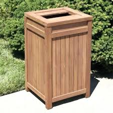 Outdoor Trash Can With Wheels Interesting Outdoor Garbage Bin Storage Outdoor Trash Cans Storage Shed For