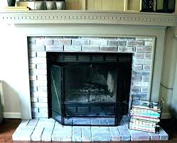 fireplace color ideas fireplace paint colors ideas gray brick painted before and after fireplaces color p
