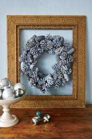 50 DIY Christmas Wreath Ideas  How To Make Holiday Wreaths CraftsChristmas Picture Frame Craft Ideas