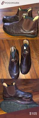 Blundstone 550 Boots Au Size 9 Us Size 10 Brown Leather