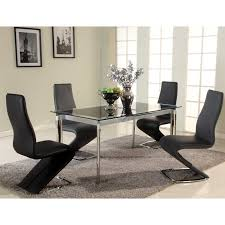 Modern Glass Dining Table Dining Tables Modern Glass Dining Table Round Glass Top Dining