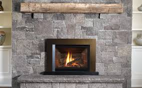 Legend G4 With Floating Trim Kit In Bronze 792FTZ And Ledgestone Valor Fireplace Inserts