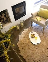 Completely Coastal - Porch - DIY rugs