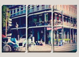 >giclee large canvas art new orleans french quarter by new orleans  giclee large canvas art new orleans french quarter by