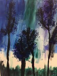 my finished abstract forest will be proudly displayed in the sewing room image credit john kissane