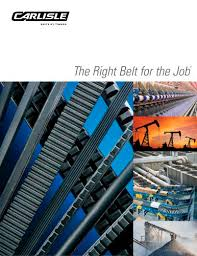 The Right Belt For The Job Timken Belts Pdf Catalogs