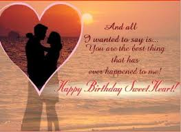 Sweet birthday wishes for husband ~ Sweet birthday wishes for husband ~ Romantic and happy birthday wishes for husband happy