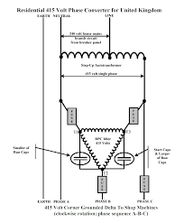 three phase to single phase converter circuit diagram ireleast info 415 volt three phase converter for home in the united kingdom wiring circuit