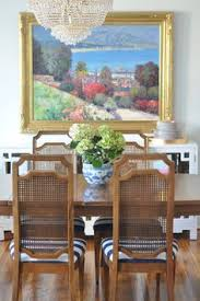 art chandelier cane back chairs stripes find this pin and more on dining room