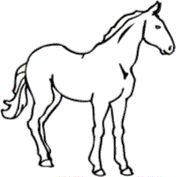 Free Horse Coloring Pages Geometric Coloring Pages 4th Of July