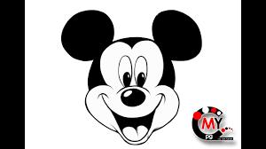 ミッキーマウスの描き方とチラシ作成の共通点