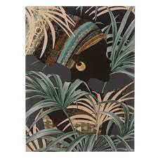 solace palm print wall art