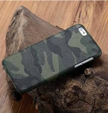 genuine leather camo pattern case for htc 10 zoom