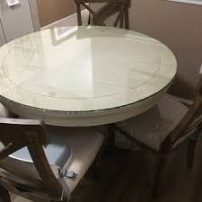 clear colored round glass table tops round glass dining custom cut glass table top