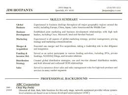 Resume How To Write Skills In Skill Examples For Resumes Download