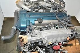 TOYOTA ARISTO 2JZGTE Turbo Engine Ecu Trans VVTi Front Sump GS300 ...