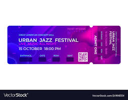 Concert Invite Template Movie Ticket Music Concert Party Event Entrance