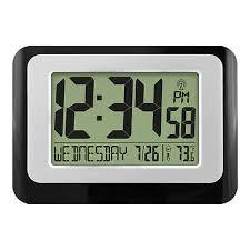 w88631 atomic digital wall clock