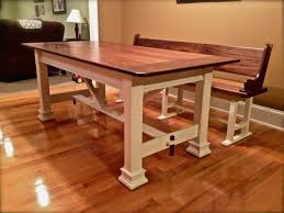 Kitchen Built In Bench Kitchen Bench Built In Raw Bench Open Red Wood Features Heavily