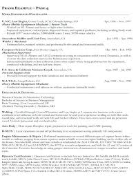 Sample Resume For Federal Government Job Resume Web