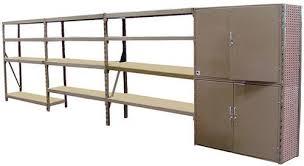 xtreme garage shelving 276 1 2 w x 96 h 30 d 4 shelf rack at menards