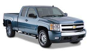 Give Your Chevrolet Silverado The Appearance Of An Upmarket Trim Level With Bushwacker Oe Style F Chevy Silverado 2500 Hd Fender Flares Chevy Silverado 2500