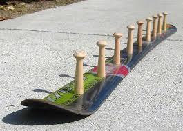 DIY Skateboard Coat Rack