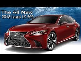 2018 Lexus Ls 500 Interior And Exterior Colors
