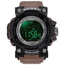 PANARS Military <b>Digital</b> Watches <b>Brand</b> Watch <b>Digital</b> LED Back ...