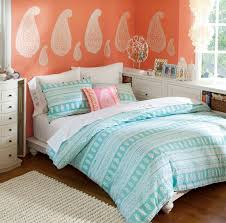Light Coral Walls Perfect For A Teen Or Preteen Love The Light Peach Coral Walls