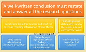 How To Write A Dissertations How To Write The Best Conclusion Chapter Of Your Dissertation