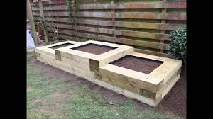 building garden beds. raised flower beds with the use of railway sleepers by w jarvis \u0026 son tree services and landscapes - youtube building garden c