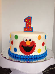 Elmo 1st Birthday Cake By Maris Boutique Cakes Maris Boutique