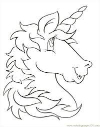 Free Printable Coloring Image Unicornhead Coloring Fun Unicorn