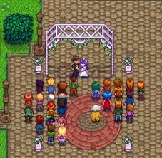 Marriage Stardew Valley Wiki