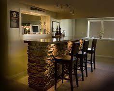 basement bar lighting ideas. Basement Bar Recessed Cut Out For Tv Lighting Ideas