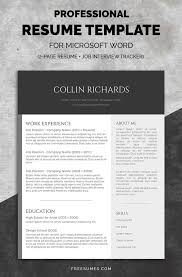 Best Resume Templates 2017 Enchanting 60 Best Resume Templates Design Graphic Design Junction