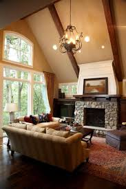 fireplace mantel lighting. Stone Fireplace Mantel Shelf Living Room Traditional With Ceiling Lighting Sloped Window Treatments .
