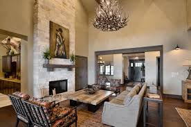 the home was built by seven custom homes and the interior design was done by jeannie balsam llc the arte de mexico antler chandelier completes this