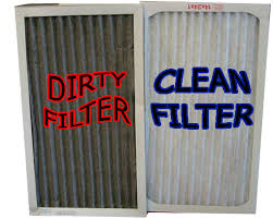 air conditioning filters. dirtyfiltervscleanfilter air conditioning filters
