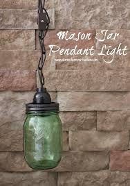 mason jar pendant lighting. How To Make A Mason Jar Pendant Light. Includes Few Options For The Easiest Lighting I