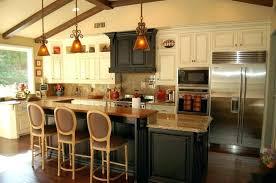 2 tier kitchen island ideas two designs height
