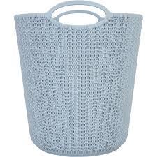 <b>Корзина для мусора</b> «Вязание», 260х290х260 мм, 10 л, цвет серый