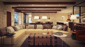 Decor Stone Wall Design Indoor Fireplace In Front Cozy Couches Marble Ideas For Floor Set 98