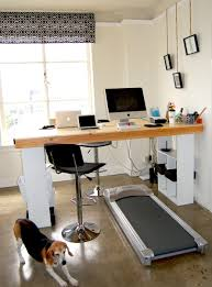 how to build a standing treadmill desk